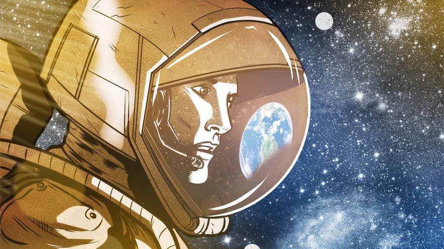 921181013a8 Måske indeholder det ligefrem nøglen til at mobilisere vores bevidsthed om,  hvor værdifuld vores klode er. Illustration: Rafael Alvarez for Zetland
