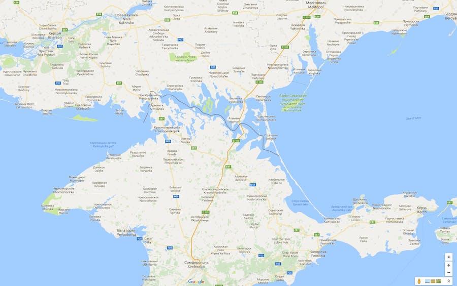 Palaestina Forsvandt Fra Google Maps Og Krim Blev Russisk Her Er